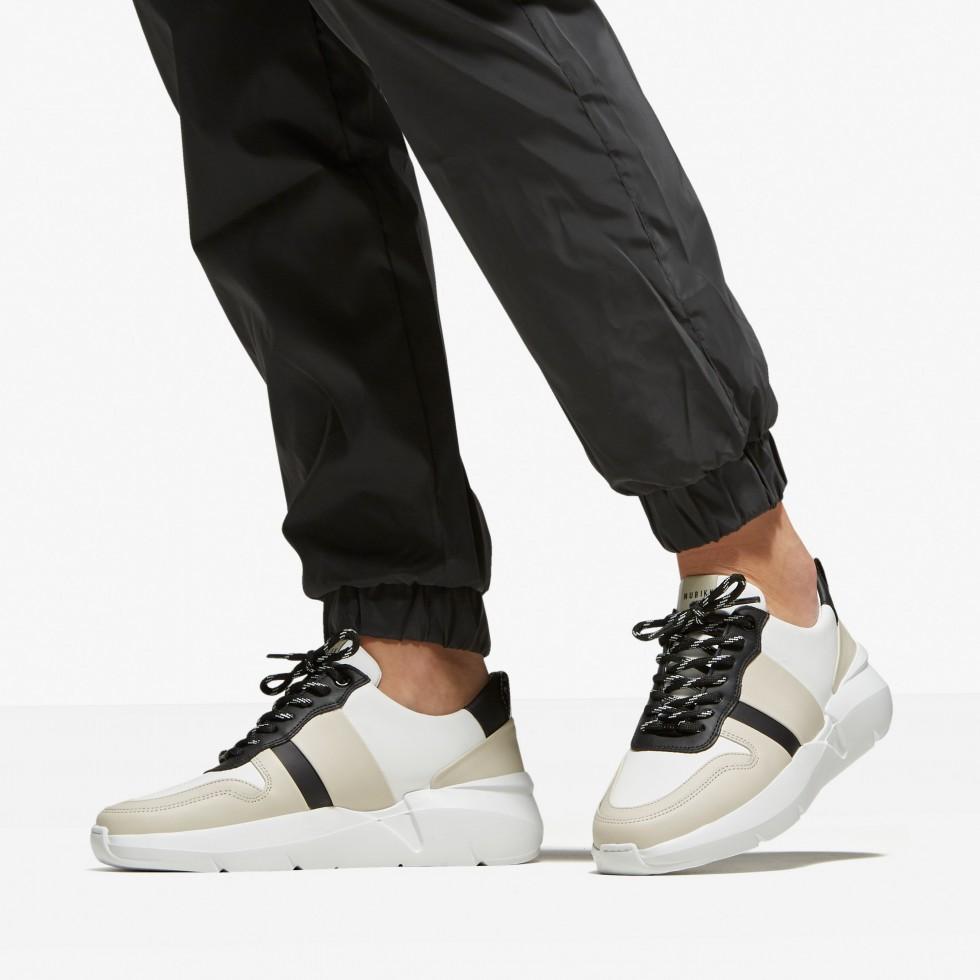 Multi White Sneakers Lucy Sue Nubikk