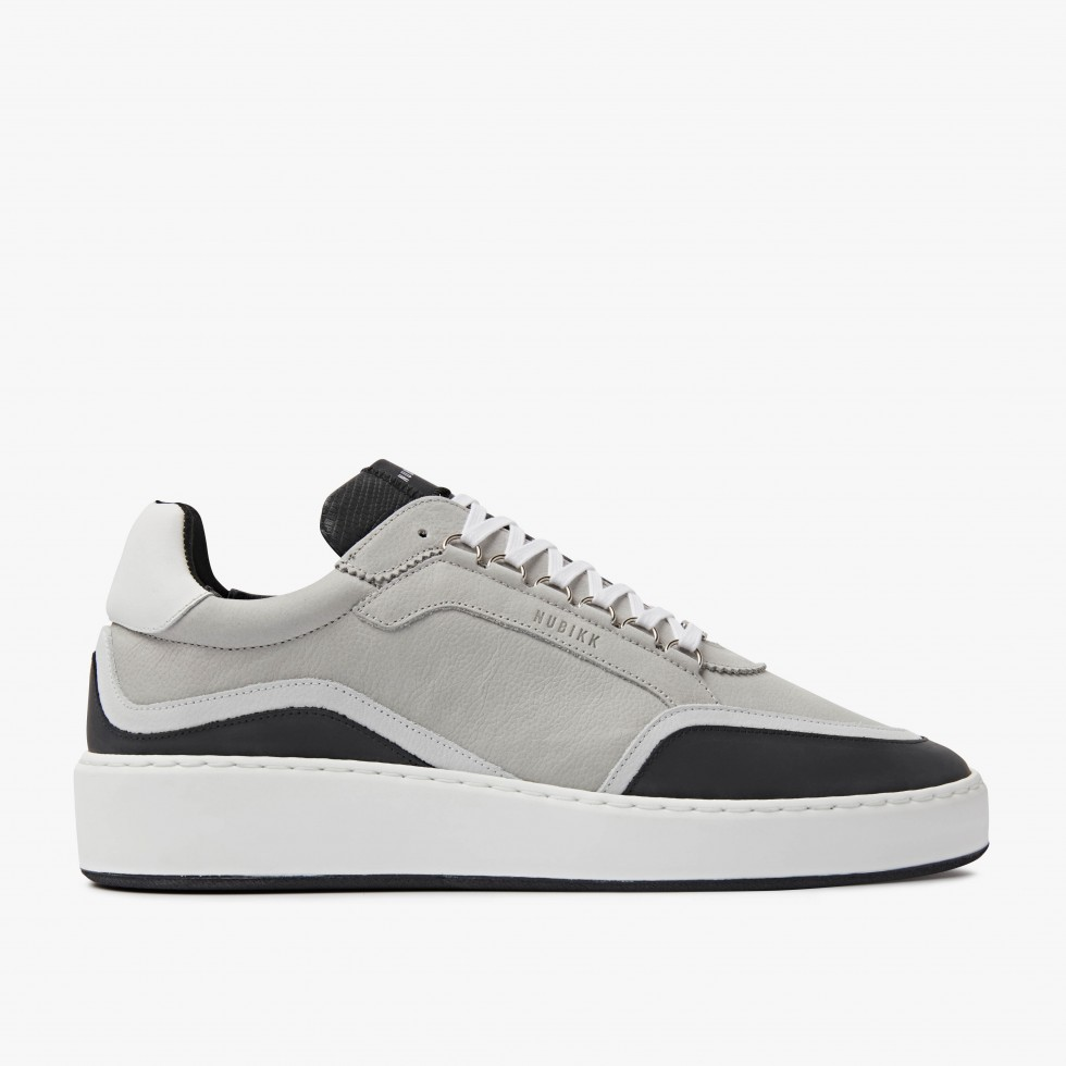 Nubikk Jiro Jones Lt Grey Sneakers