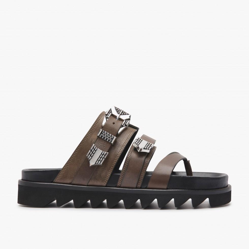 Lauren Taro | Khaki Sandals