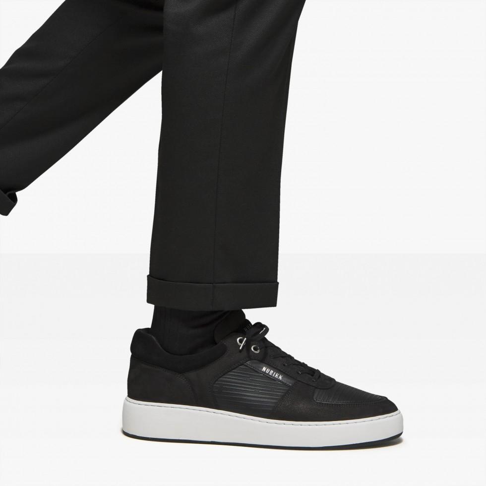 Nubikk Jiro Lima Zwarte Sneakers