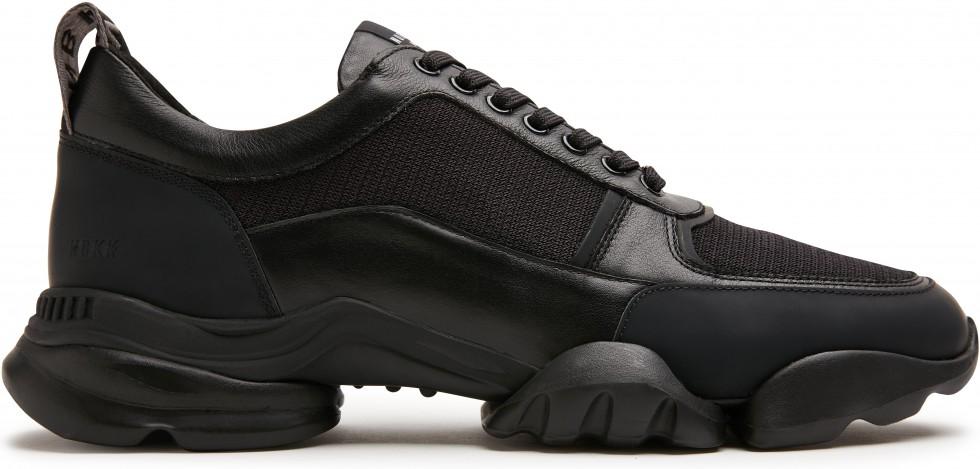 Zwarte Sneaker Mylan Arch Raven Nubikk
