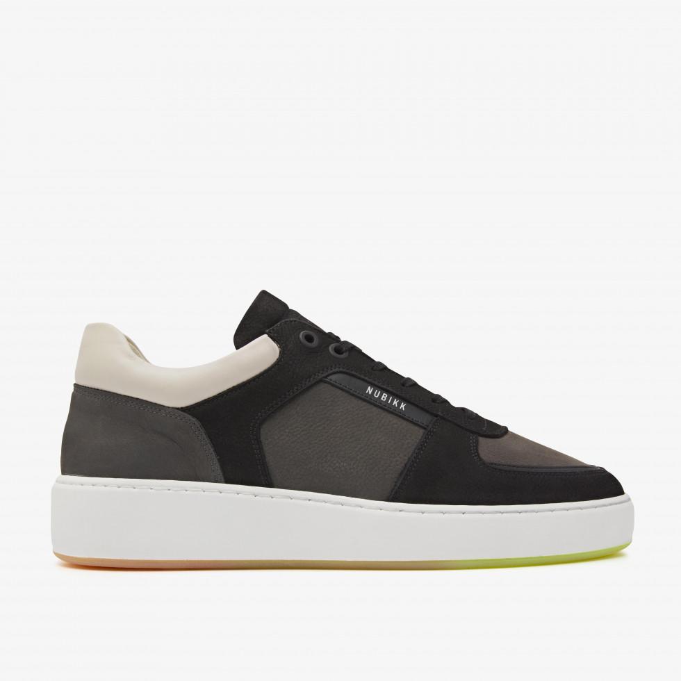 Nubikk Jiro Limo Combi Black Sneakers