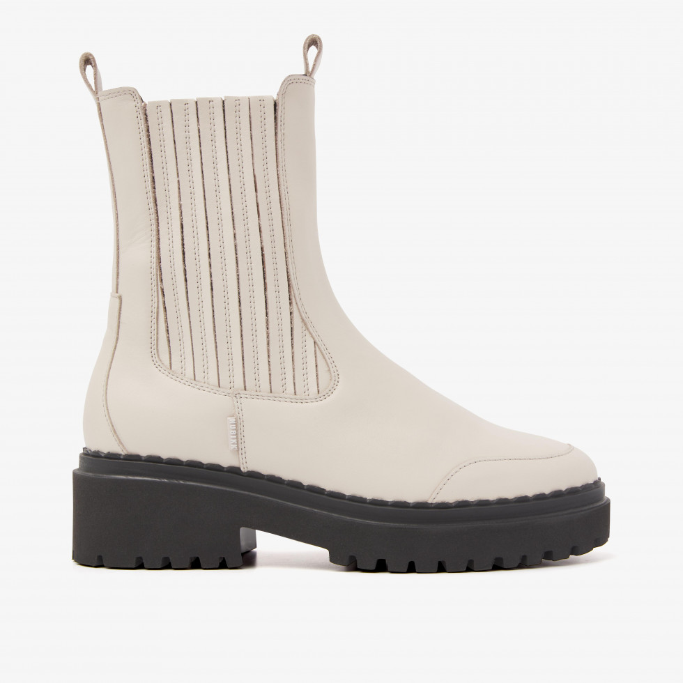 Nubikk Fae Lina Beige Chelsea Boots
