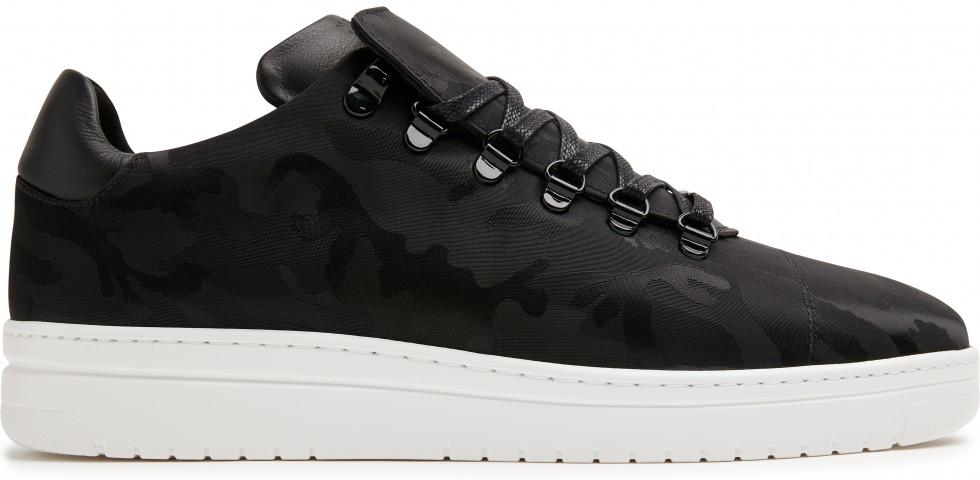 Schwarze Sneaker Yeye Camo II L Nubikk
