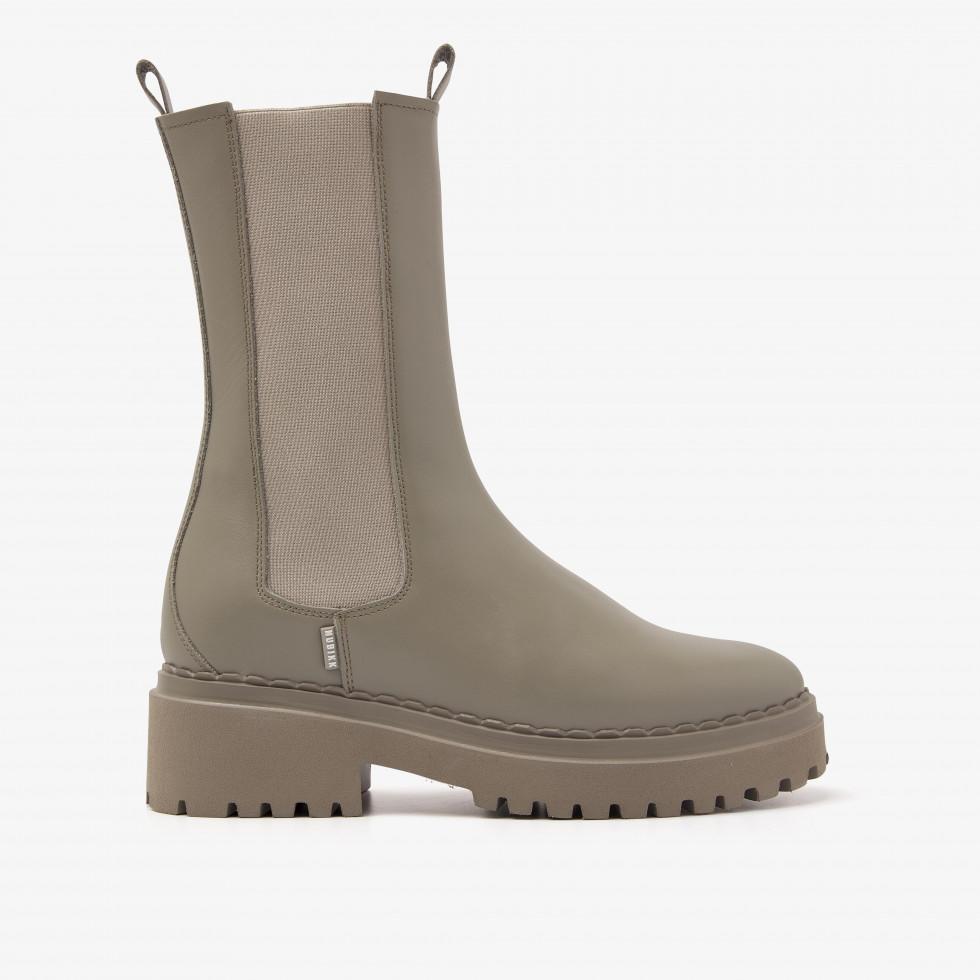 Nubikk Fae Adams Groene Chelsea Boots