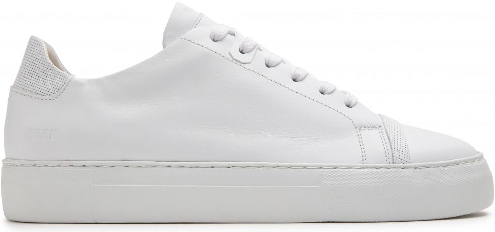 Weisse Sneaker Jagger Aspen Nubikk