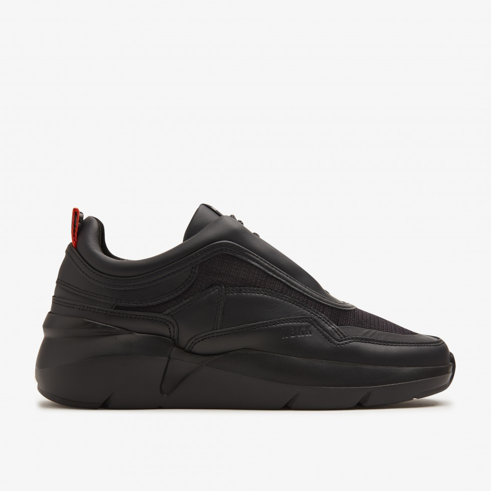 Zwarte Sneaker Lucy Reflect Nubikk