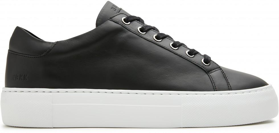 Zwarte Sneaker Jagger Pure Gomma Nubikk