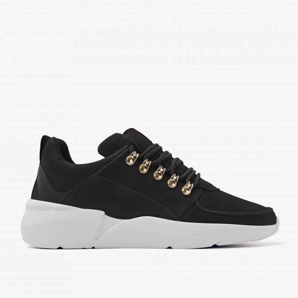 Nubikk Roque Royal Zwarte Sneakers