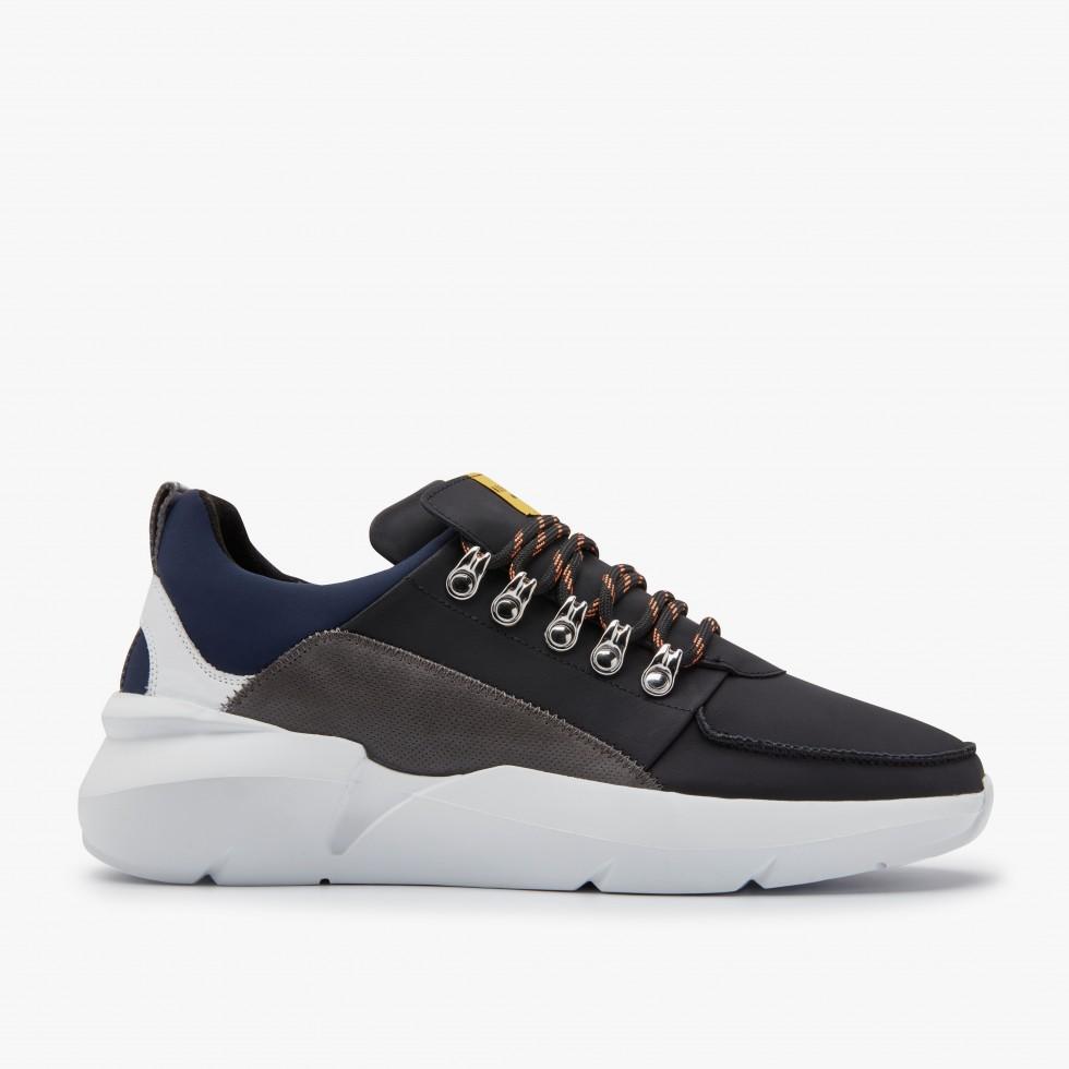 Black Combi Sneakers Elven Royal Nubikk