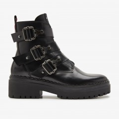 Fae Buckle | Black Boots