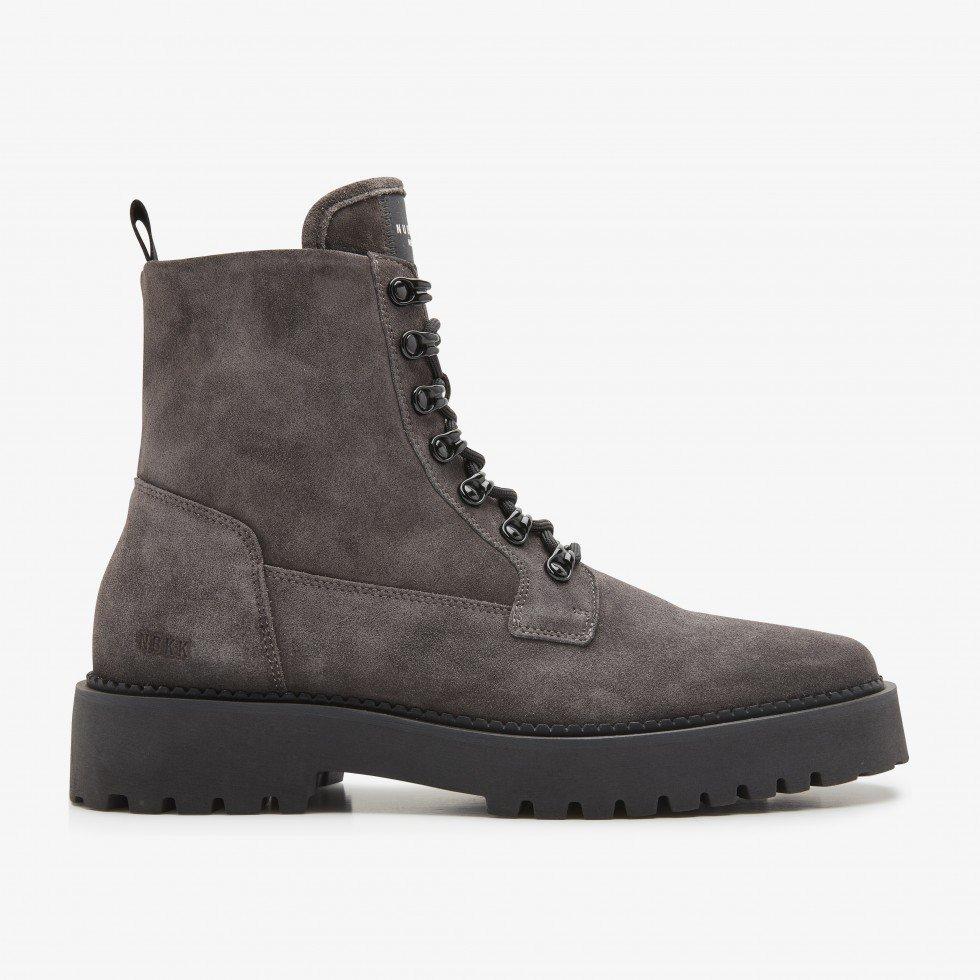 Logan Harbor Suede | Grey Boots