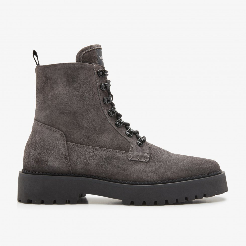 Logan Harbor Suede | Grijze Boots