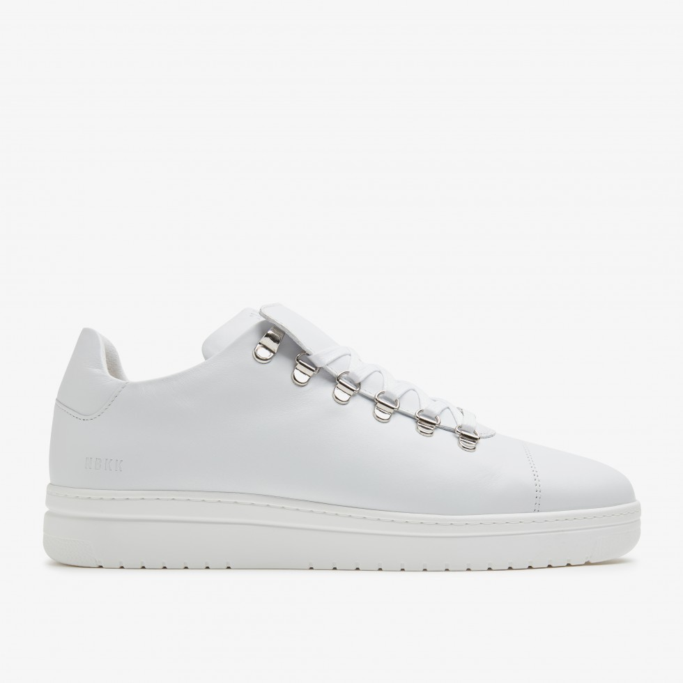White Trainers Yeye Calf Nubikk