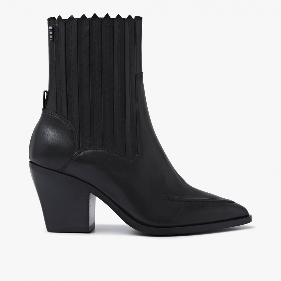 Romee Moc | Black Ankle Boots