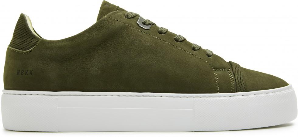 Grüne Sneaker Jagger Aspen Nubuck Nubikk