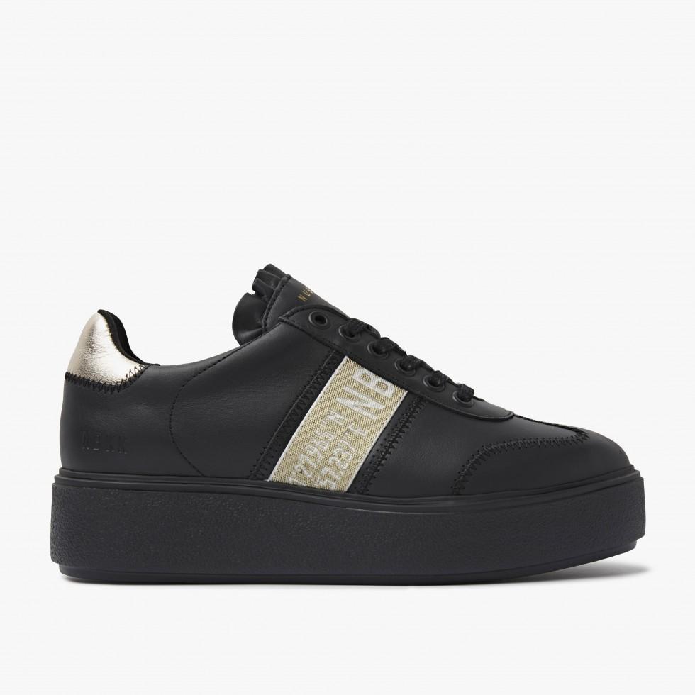 Nubikk Elise GPS Zwarte Raven Sneakers