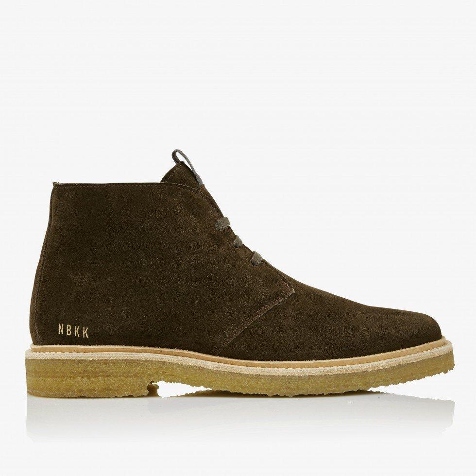 Logan Desert Fur   Green Boots