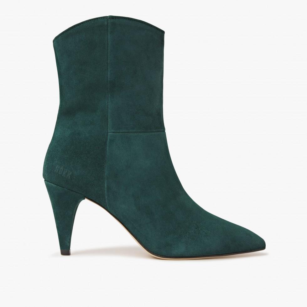 Green Ankle Boots Ace Boheme Nubikk