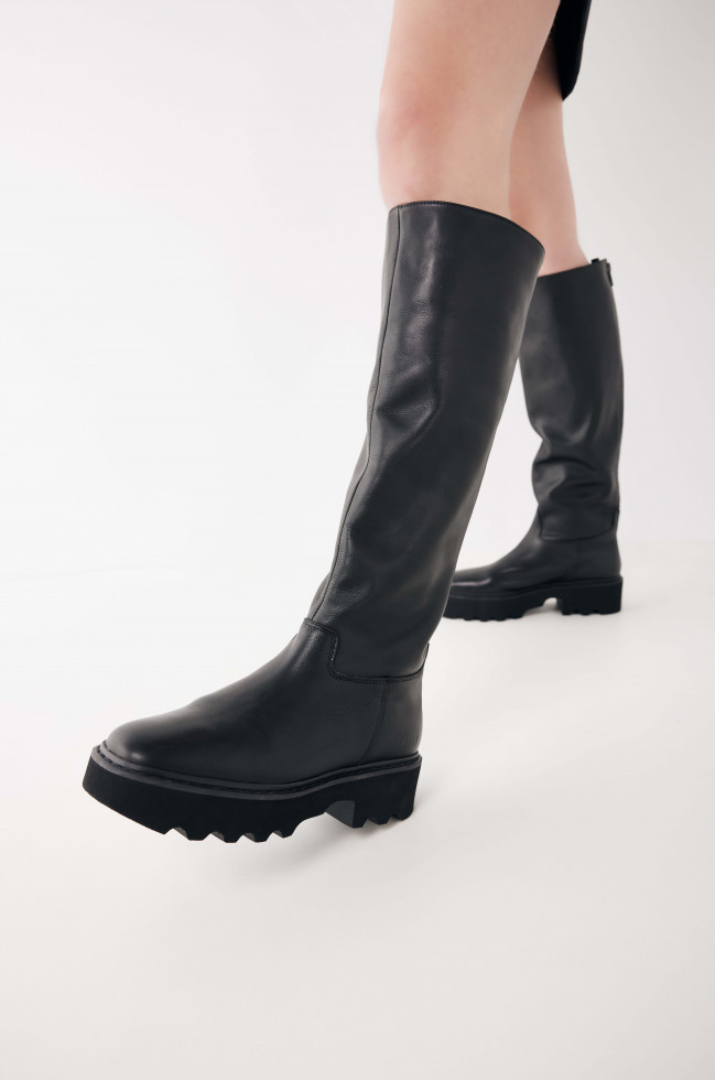 Nubikk Fara Zip Zwarte Boots