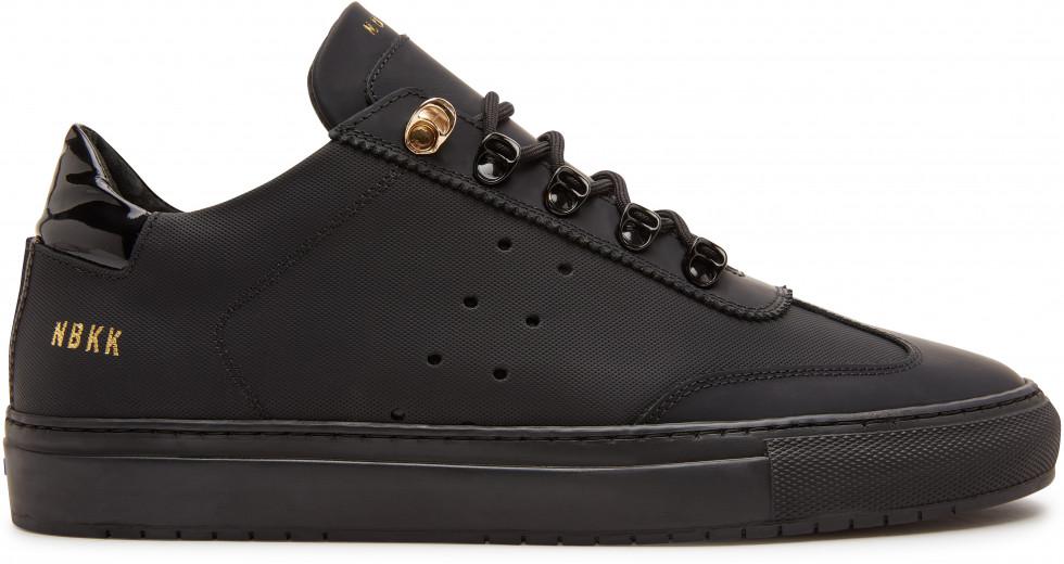 Zwarte Sneaker Jhay Surya Gomma Nubikk