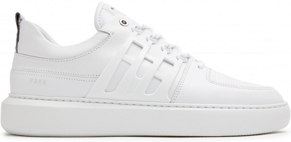 Witte Sneaker Scott Benton Nubikk