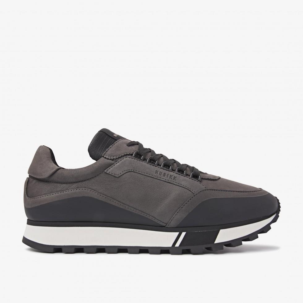 Donkergrijze Sneaker Delta D Nubikk