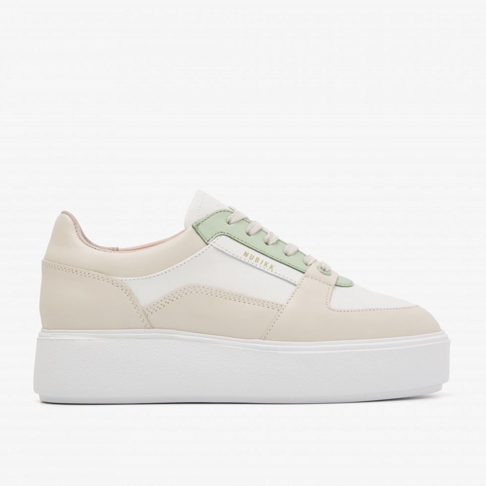 Nubikk Elise Bloom Baskets Verte Blanches