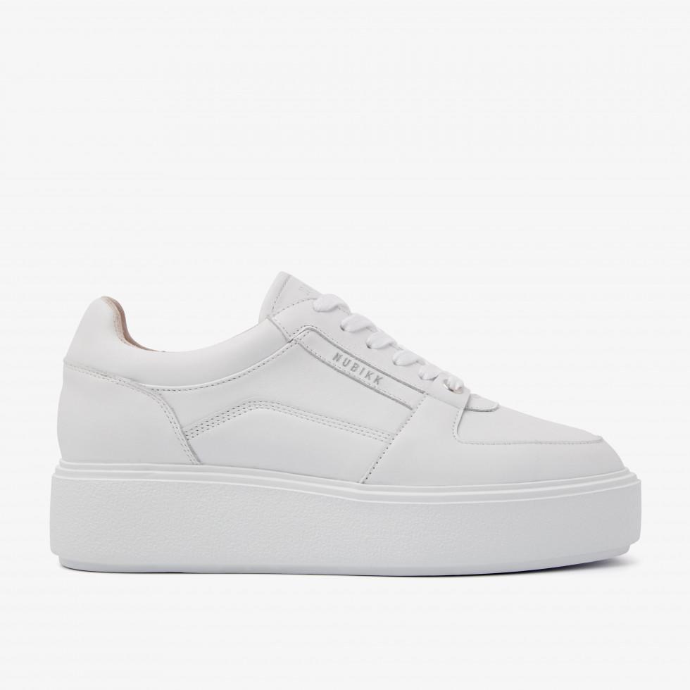 Nubikk Elise Bloom White Sneakers