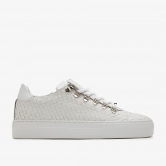 Jagger Python | White Trainers