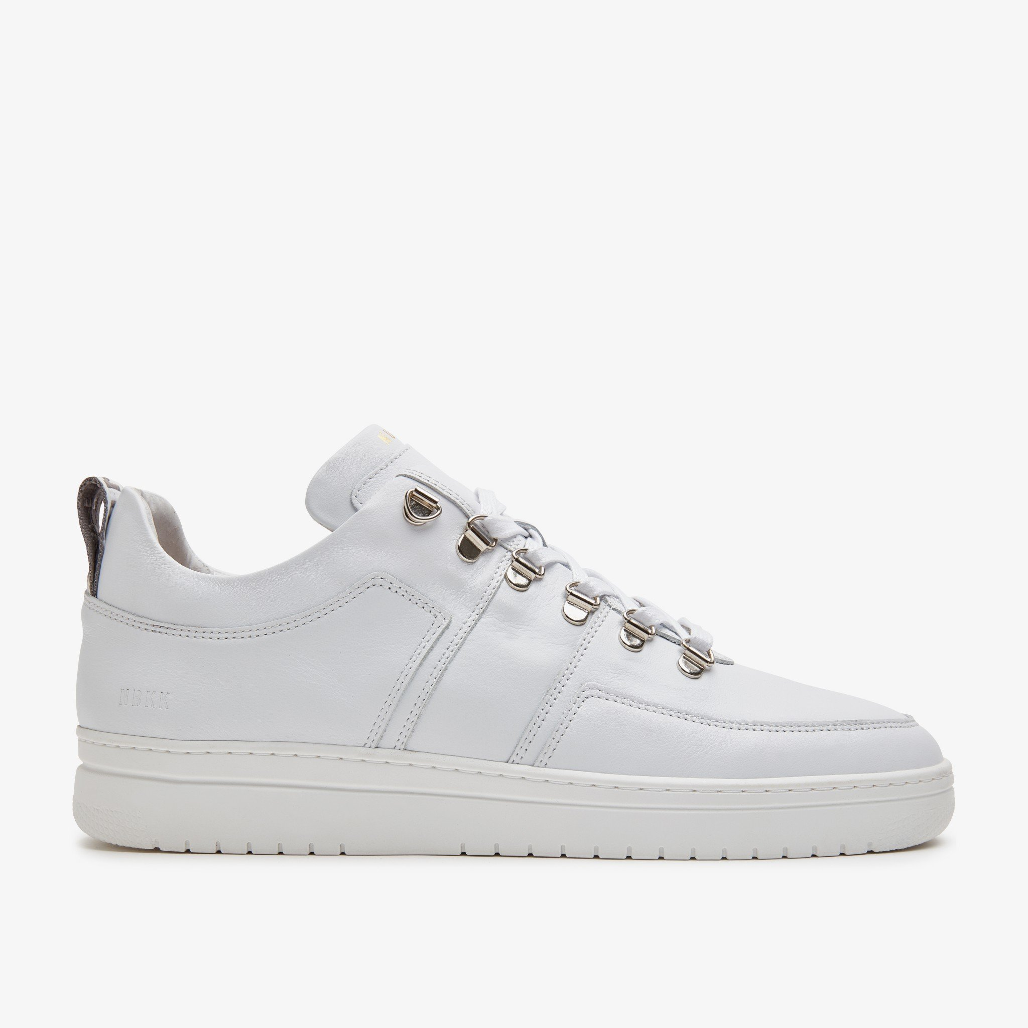 White Classic Leather trainers