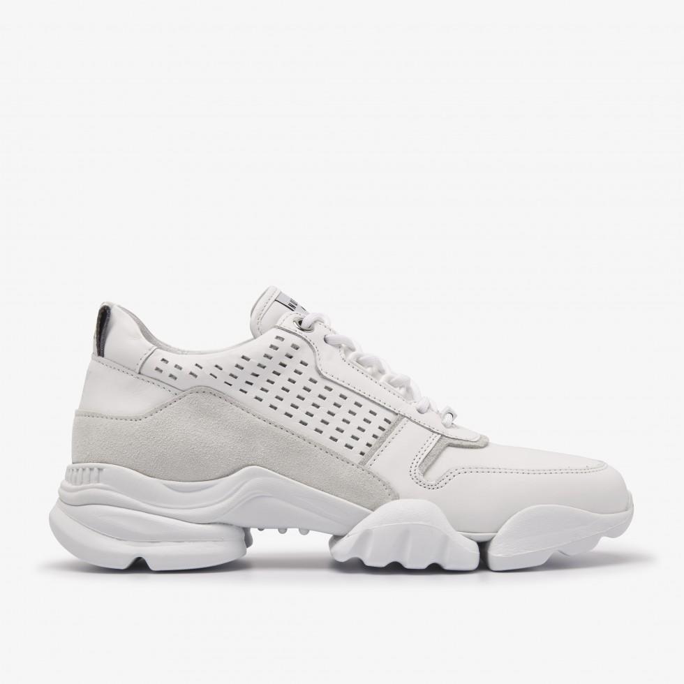 White Sneakers Jill Maddock Nubikk