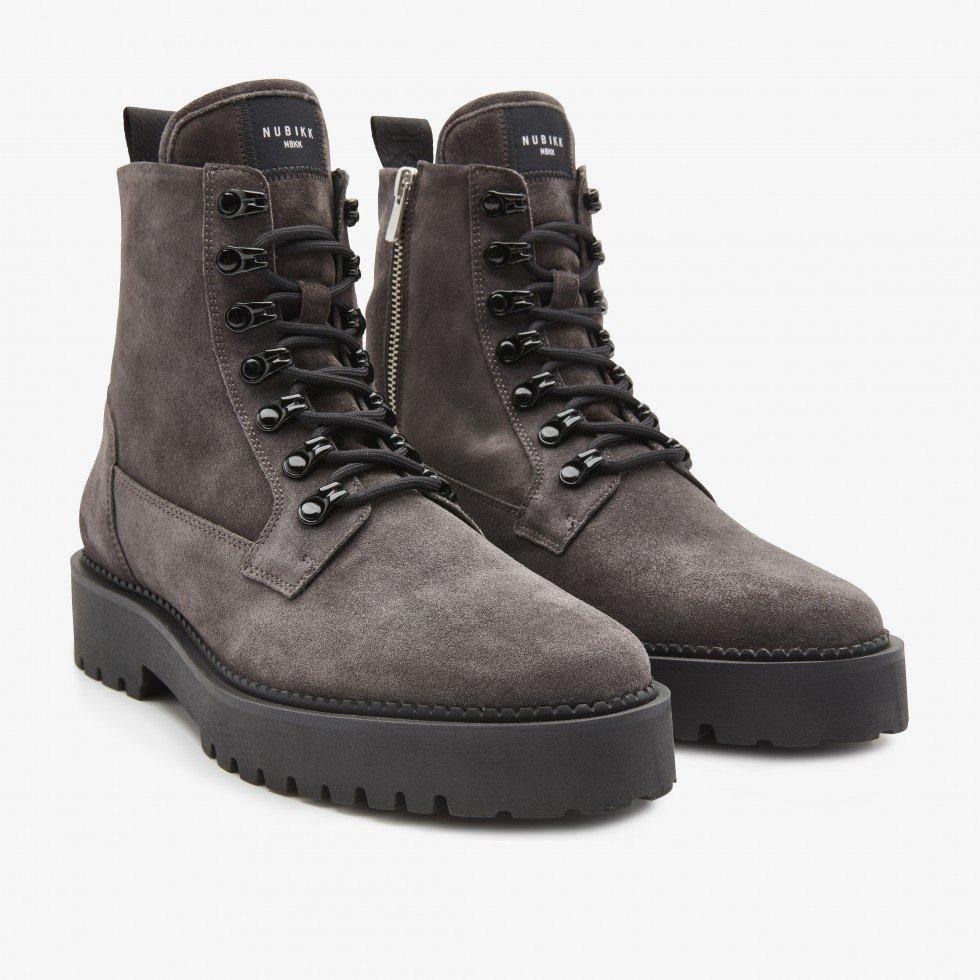 Nubikk Logan Harbor Suede | Grey Boots