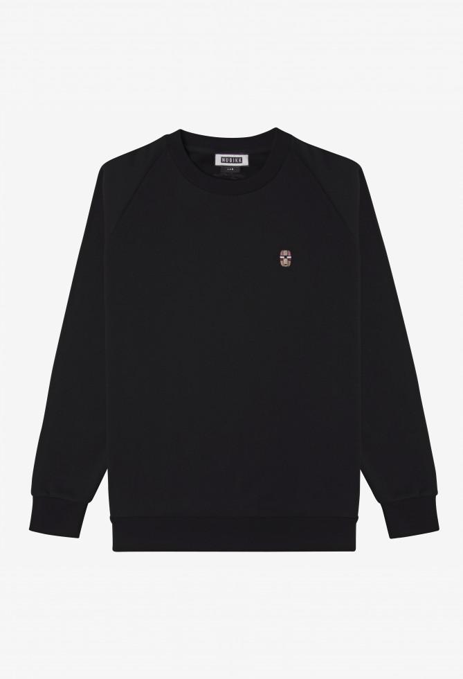 Nubikk Sem Zwarte Sweater