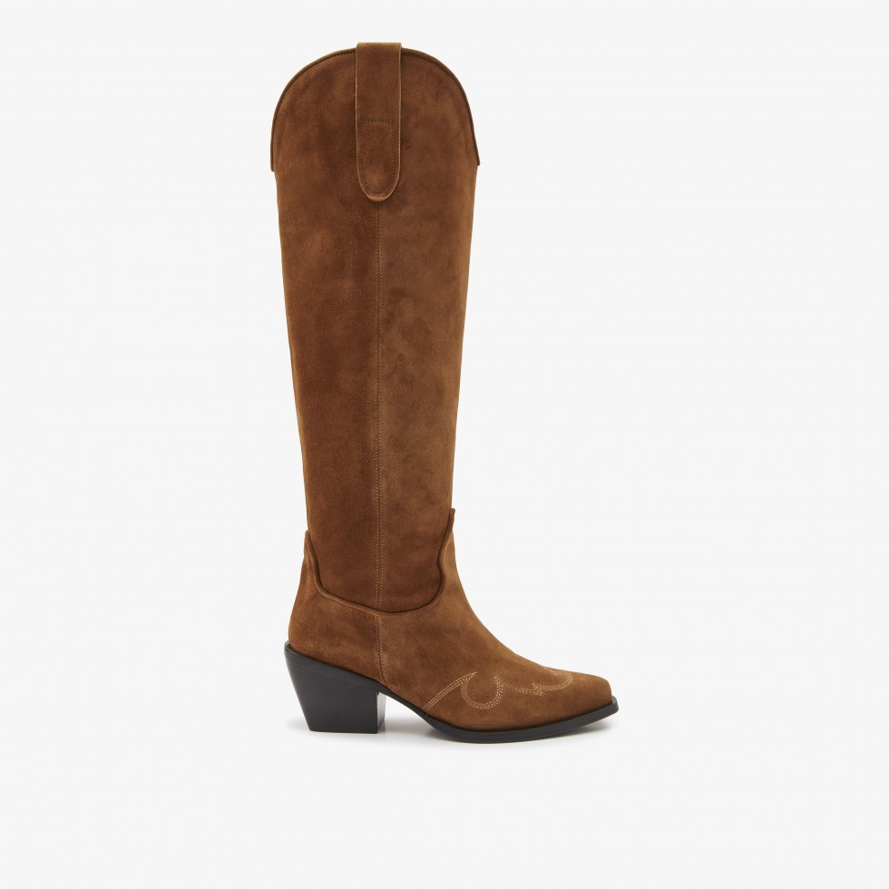 Cognac Boots Alex Gilly Nubikk