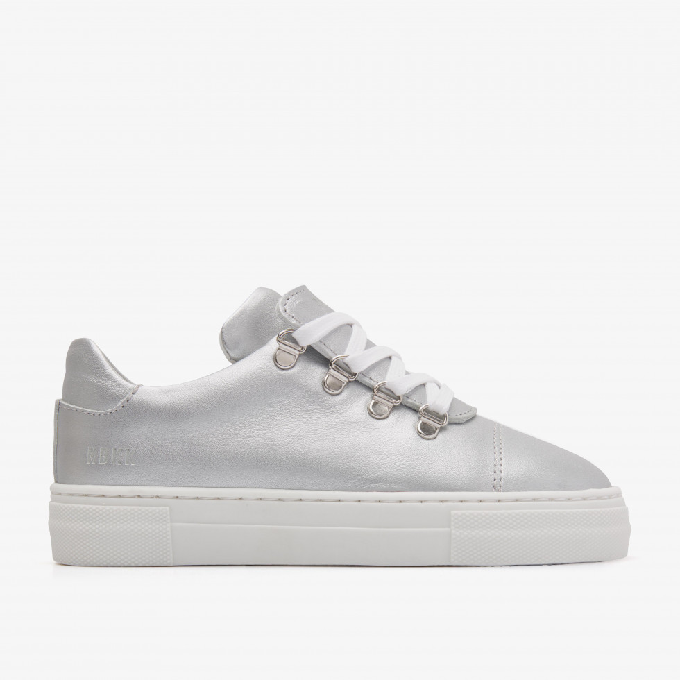 Nubikk Jagger Classic JR Silver Sneakers