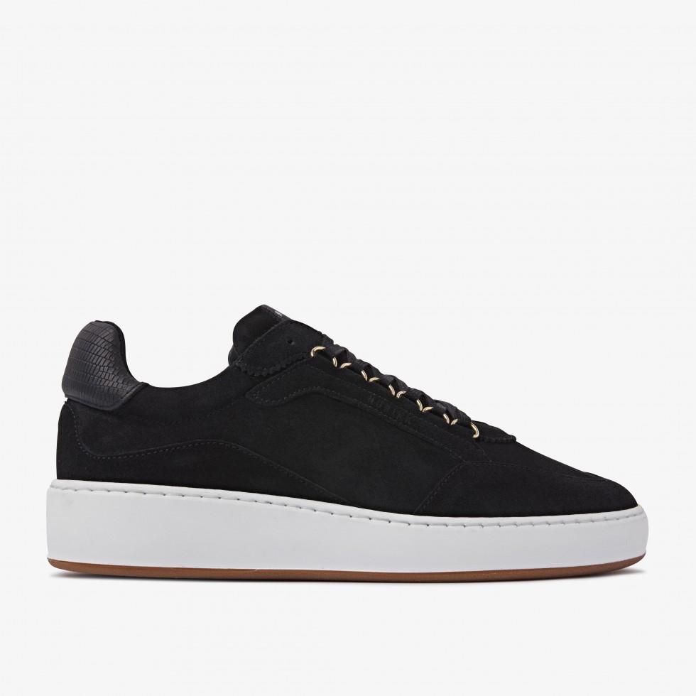 Jiro Jade L | Black Sneakers