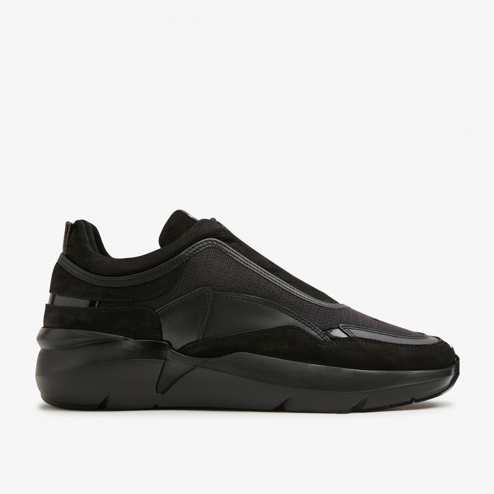 Zwarte Sneakers Elven Boulder Raven Nubikk