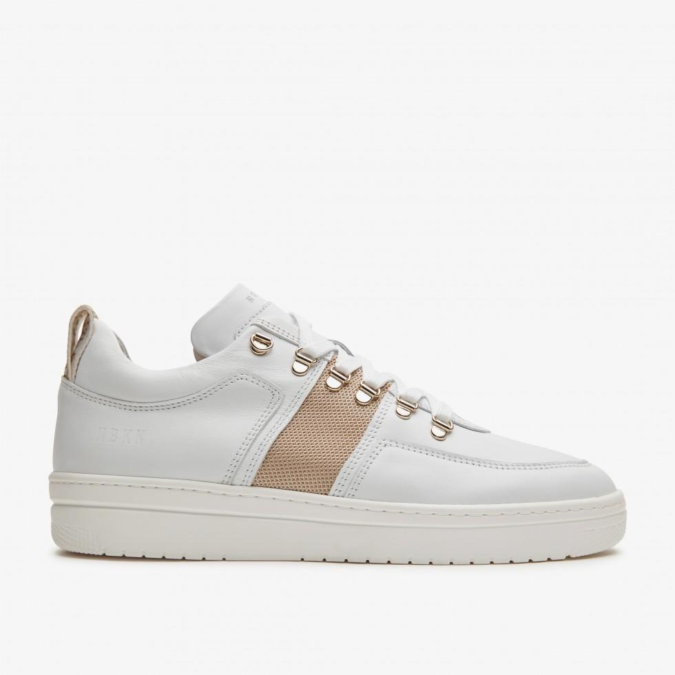 White Sneakers Yeye Maze Multi Nubikk