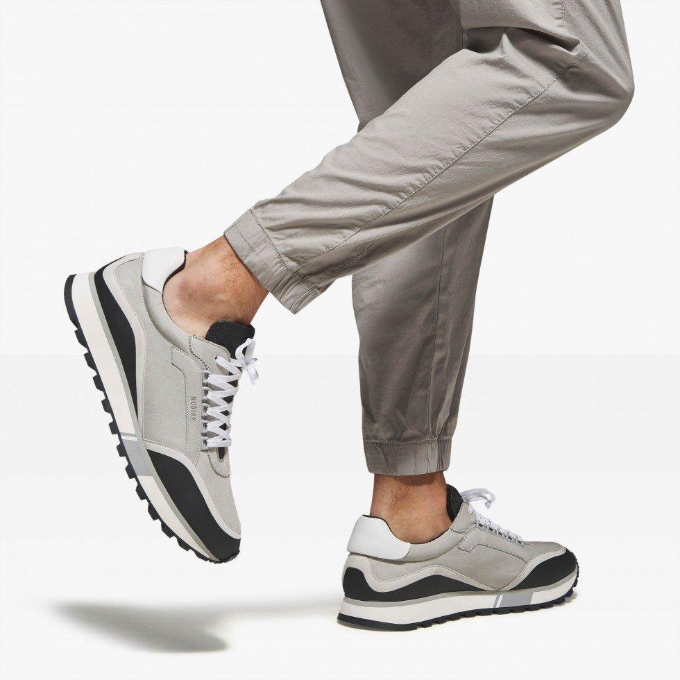 Lightgrey Sneakers Delta D Nubikk