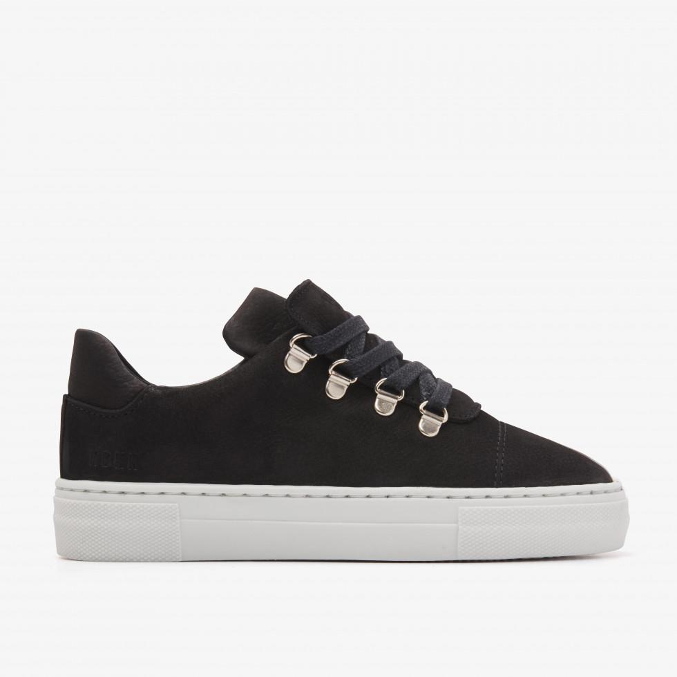Nubikk Jagger Fresh JR Zwarte Sneakers