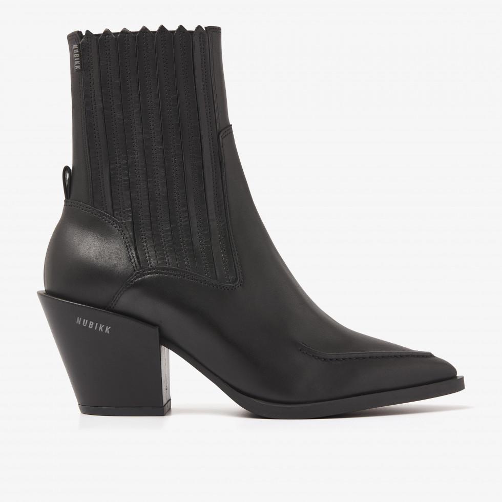 Nubikk Romee Boa Black Ankle Boots