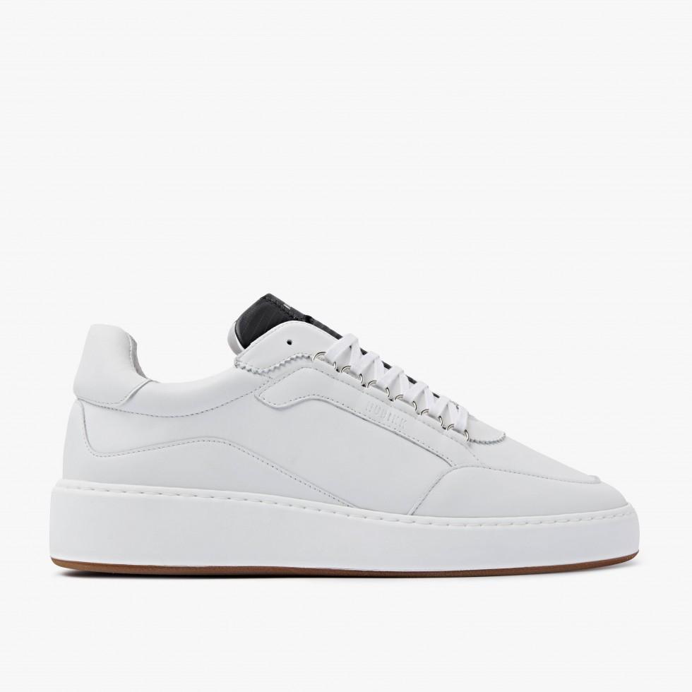 White Sneakers Jiro Jade M Nubikk