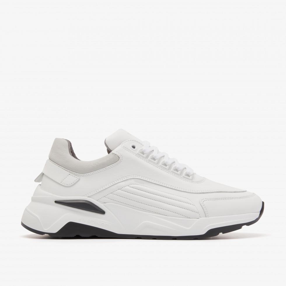 Nubikk Dusk Maltan White Sneakers