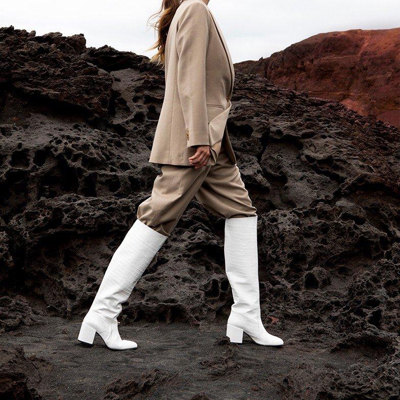 Gigi Melba |Bottes blanches