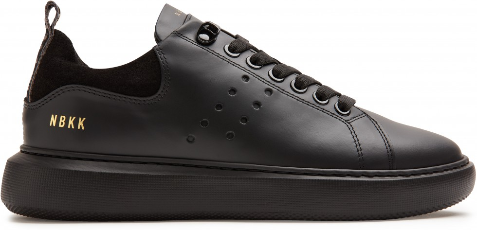 Schwarze Sneaker Rox Gomma Nubikk
