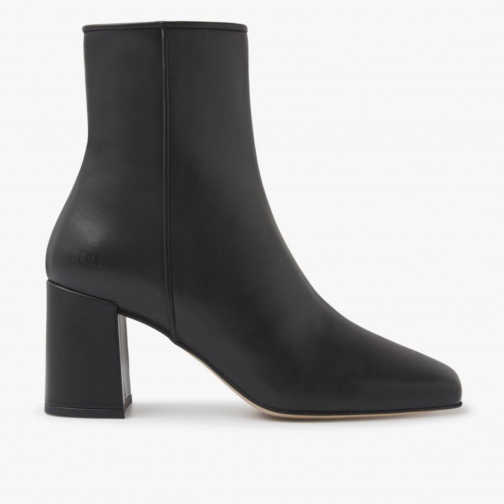 Nubikk Joy Jazzy Black Ankle Boots