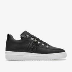 Yeye Maze Glitter | Black Sneakers