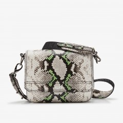 April | Beige Python Bag