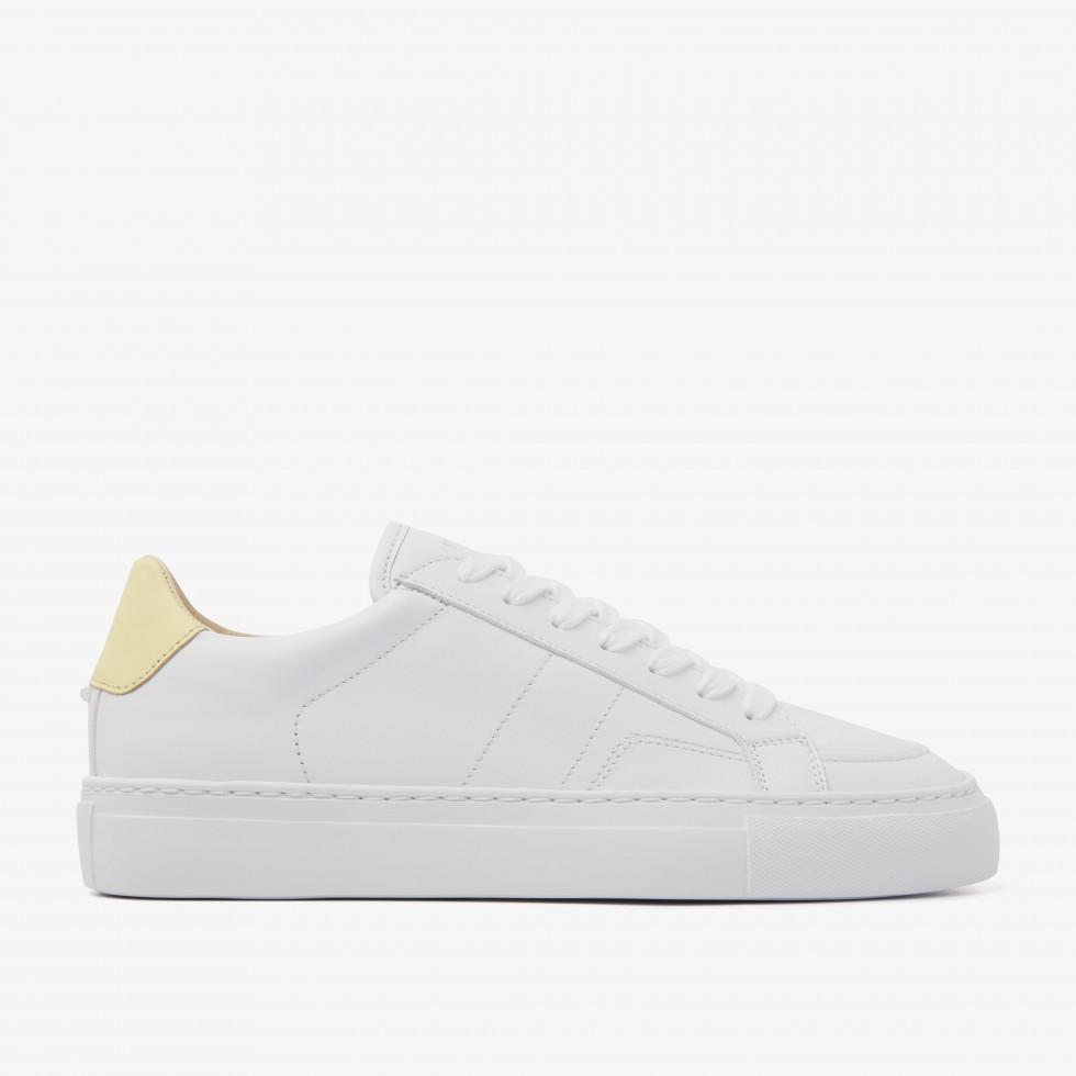 Nubikk Jase Issy L Yellow White Sneakers